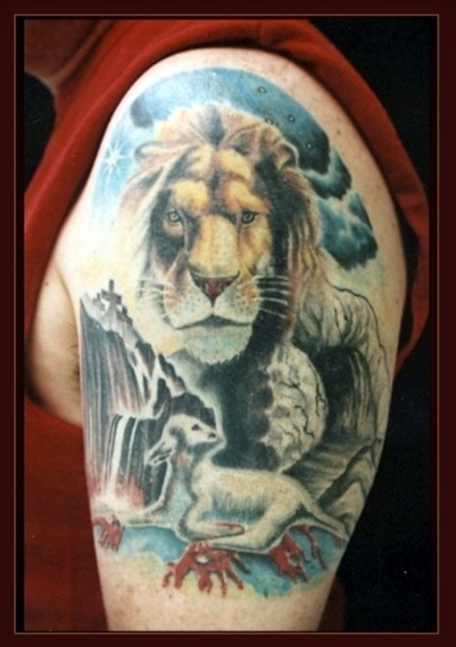 20 Lion Laying Down Tattoos Ideas And Designs