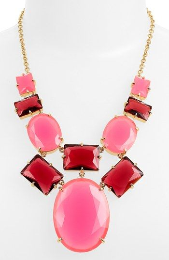 kate spade new york 'hancock park' statement necklace (Nordstrom Exclusive) available at #Nordstrom