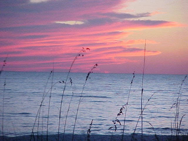 Beautiful sunset at Mexico Beach, FL  my favorite place to vacation....