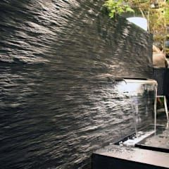 Referenzen- Naturstein: moderne Wand & Boden von MM NATURSTEIN GMBH