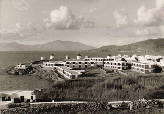Xenia Hotel, Mykonos (1960) - Aris Konstantinidis