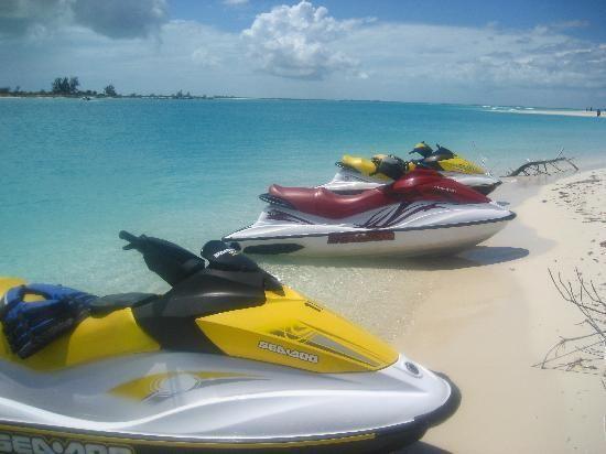 Sun & Fun Sea Sports jet ski fun!