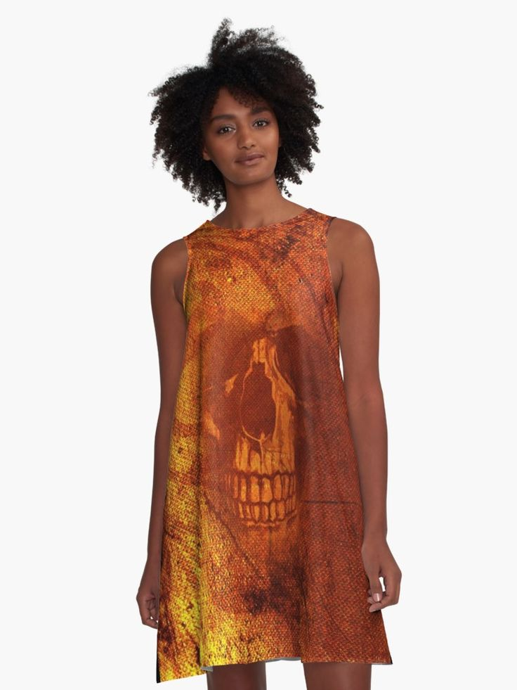 • Also buy this artwork on apparel, stickers, phone cases, and more. #dress #fashion #style #giftsforher #family #women #woman #alinedress #skull #gothic #gofthicdress #clothing #redbubble #scardesign #art #artist #shopping #online