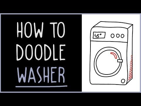 How to Doodle Washer - IQ Doodle