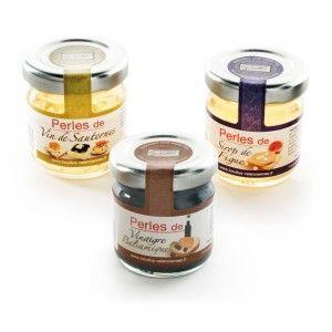 Une façon originale et surprenante d'accompagner votre foie gras avec ces perles aux saveurs de ce fameux vin qu'est le Sauternes !