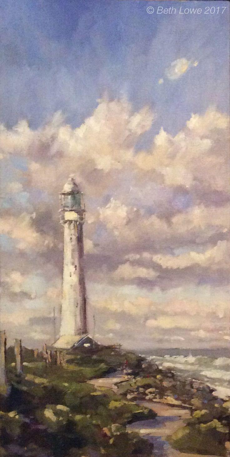 Slangkop Lighthouse by Beth Lowe