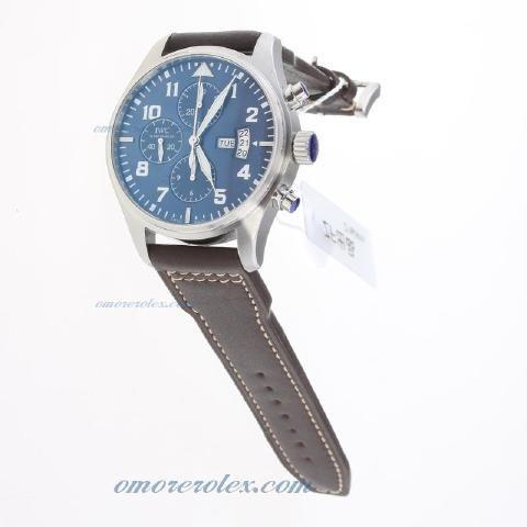 IWC Pilot Chronograph Swiss Valjoux 7750