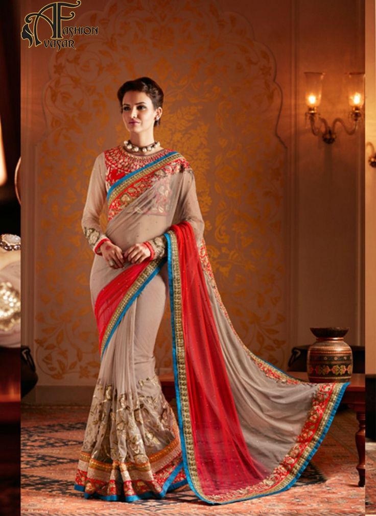 georgette net sarees online shopping india