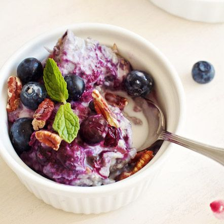 Blueberry-Coconut Baked Steel-Cut Oatmeal