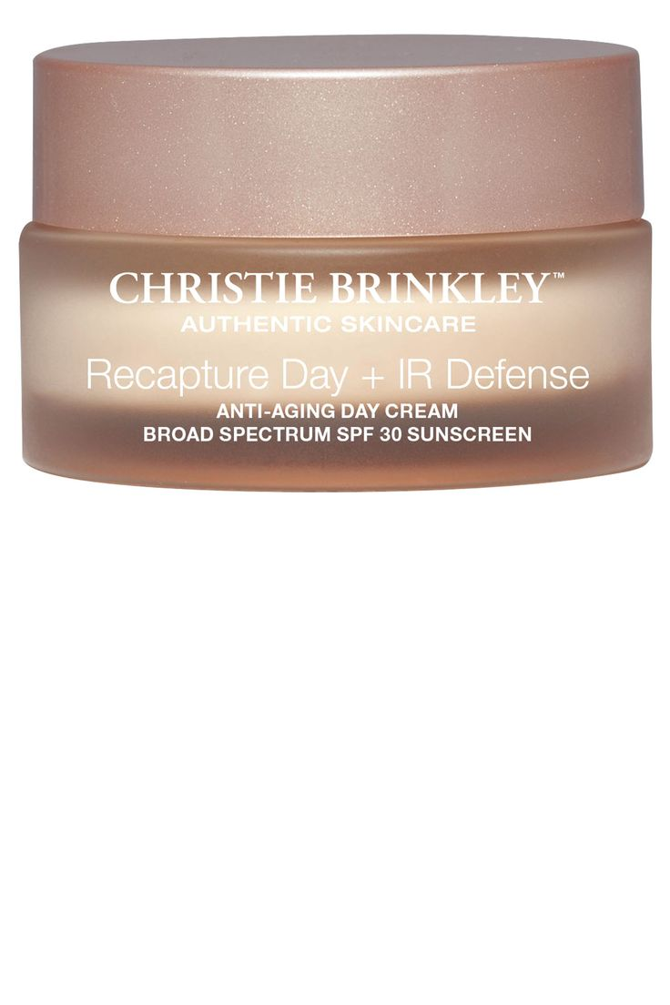 Get one step closer to Christie Brinkley's supermodel complexion with her new skin-care collection, available next month. Christie Brinkley Authentic Skincare Recapture Day + IR Defense Anti-Aging Day Cream, $79.95, christiebrinkleyauthenticskincare.com.   - HarpersBAZAAR.com