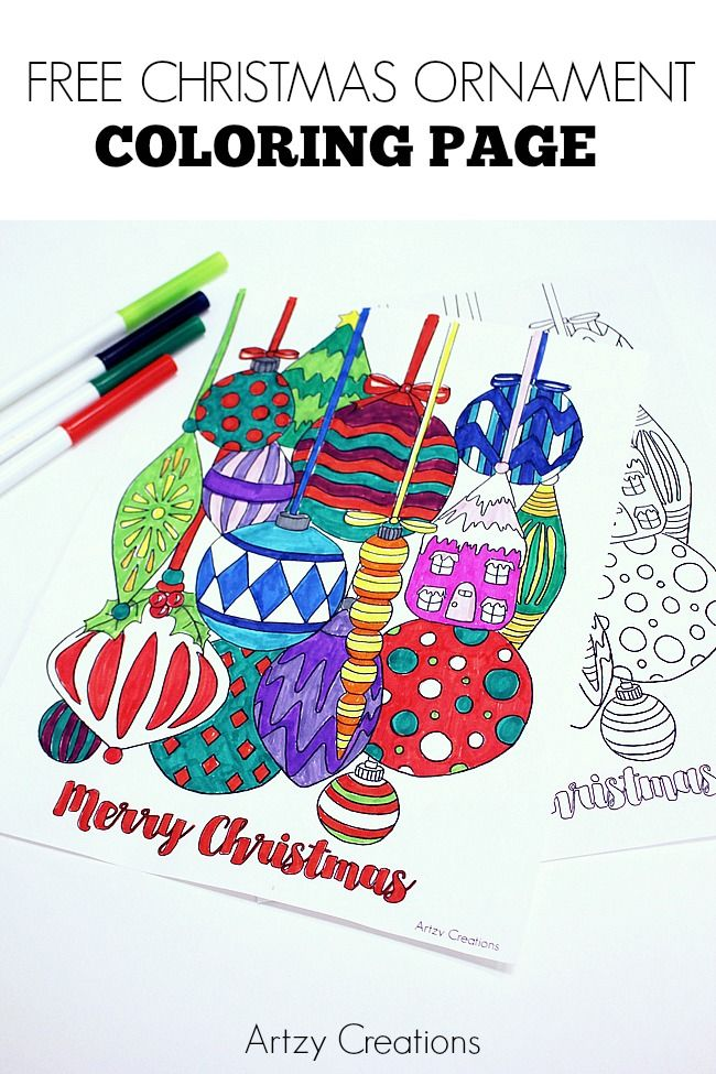 Free-Christmas-Ornament-Coloring-Page