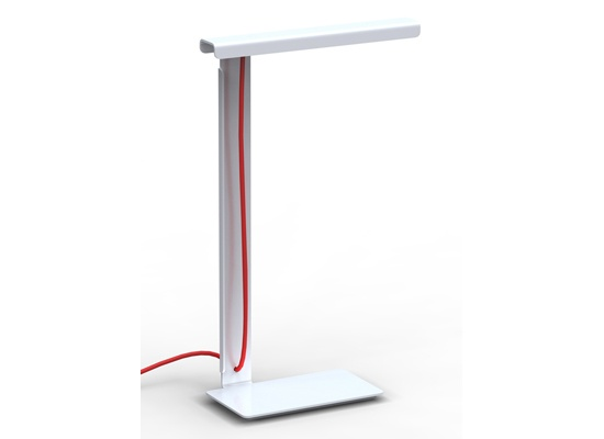 Eligent lighting design from a single piece of sheet metal the 490 lamp also