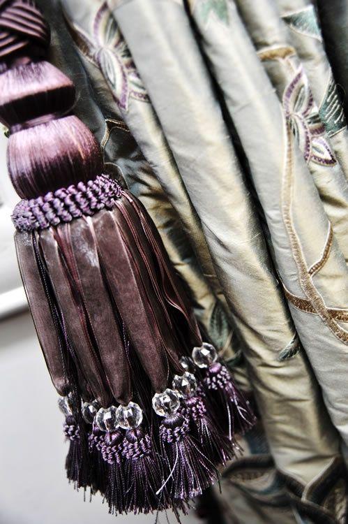 passementerie tassel | Beautiful silk tassels ... | Tassels / Passementerie