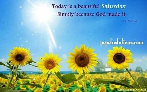 Good morning world... Have a beautiful Saturday. God Bless you  https://instagram.com/p/8Xj7QJASKm/ - facebook.com/rlwonderland