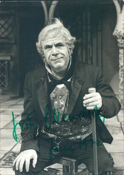 OLLENDORF Fritz - Signed Photo
