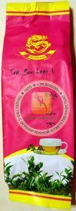 TRA SEN LOAI 1 - Чай зеленый с лотосом (лотосовый чай) отличного качества фирмы TRA XANH BLAO - 100 гр. Пр-во Вьетнам.