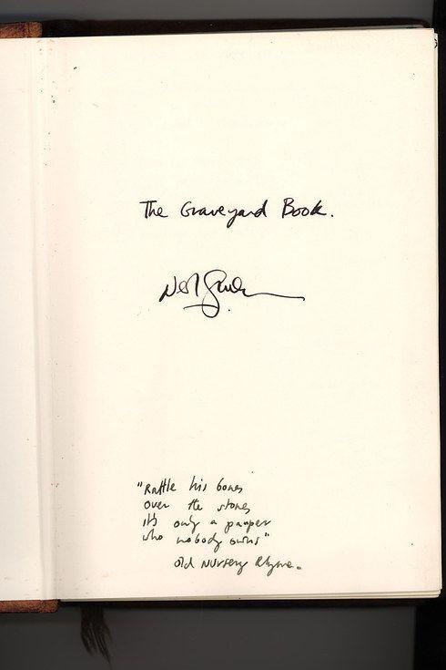 the graveyard book essay Kara allen, byu, 2009 the graveyard book concept analysis literary text: the graveyard book by neil gaiman (harper collins first edition) summary.