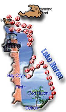 Lake Huron Lighthouses
