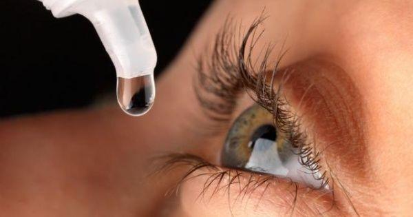 Qué efectos tiene beber gotas para los ojos - EL DEBATE
