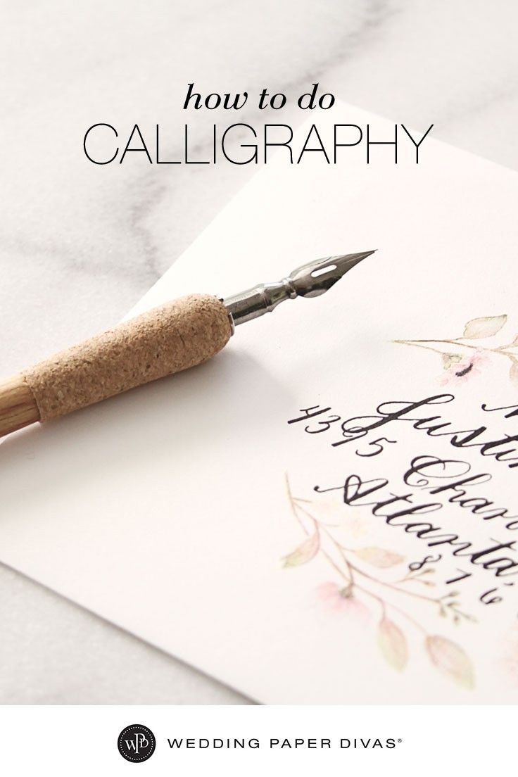 This step-by-step guide on how to do calligraphy will provide tips on how to practice and perfect the three most common calligraphy styles. You can even print out calligraphy worksheets to practice and use before personalizing each envelope. [ad]