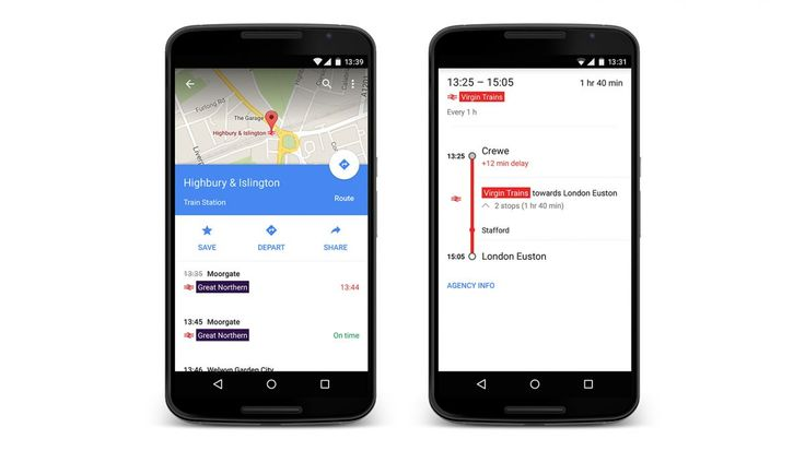 Google Maps promises to tell you when your train is delayed | Google has just launched real time National Rail data for Maps, which should make the Christmas journey less stressful. Buying advice from the leading technology site