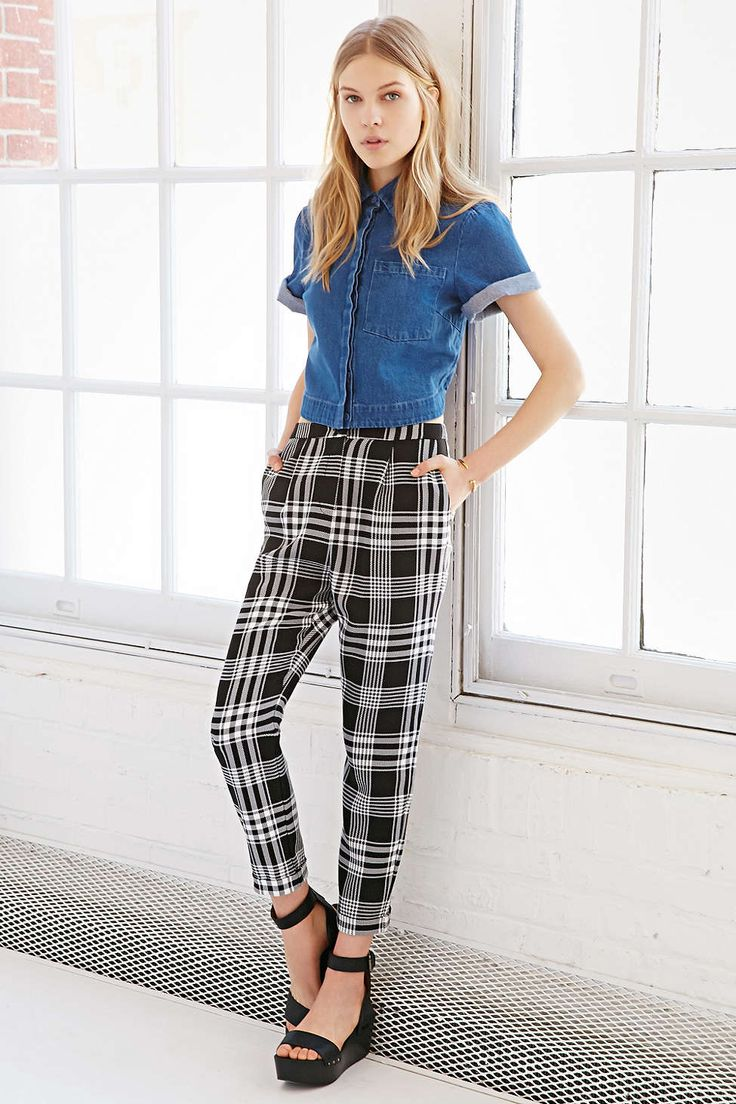 17 Best ideas about Checked Trousers on Pinterest | Plaid pants ...