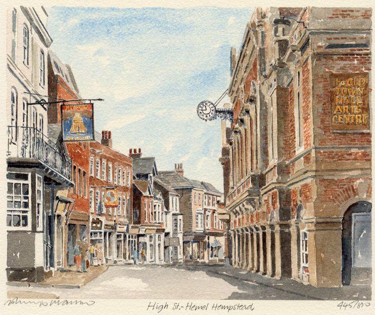 Hemel Hempstead - High St - Portraits of Britain