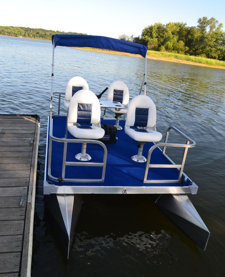25 best ideas about mini pontoon boats on pinterest for Best fishing pontoon