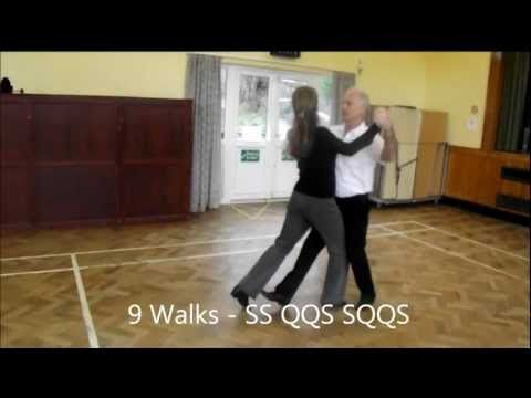 ▶ Square Tango Sequence Dance Walkthrough - YouTube