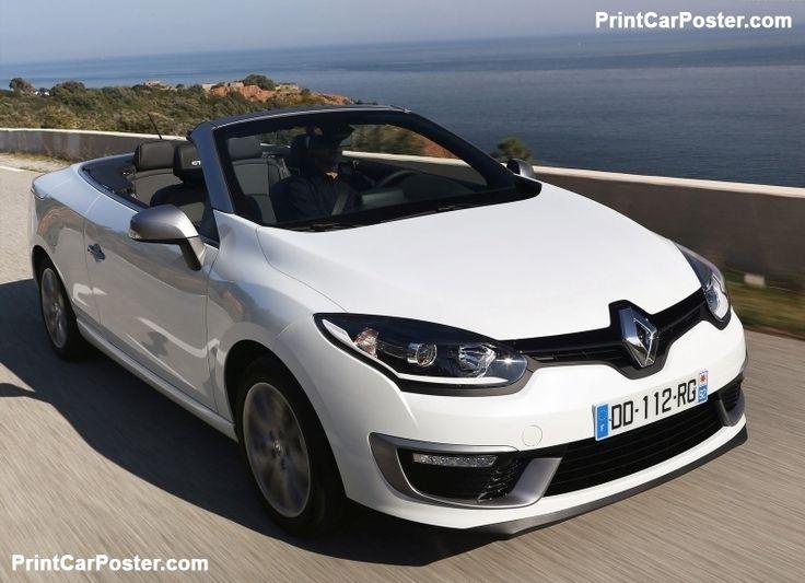 Renault Megane Coupe-Cabriolet 2015 poster, #poster, #mousepad, #tshirt, #printcarposter