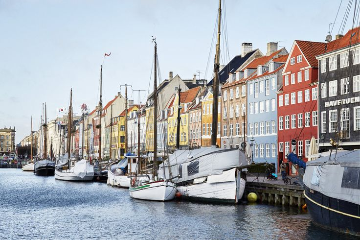 Nyhavn, Copenhagen's 17th-century waterfront.