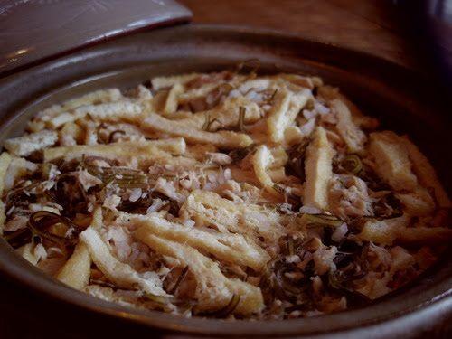 薪ストーブと土鍋で「深川めし」