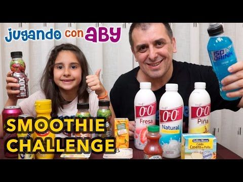 Smoothie Challenge. RETO del BATIDO ASQUEROSO. Me dan ganas de vomitar. - YouTube
