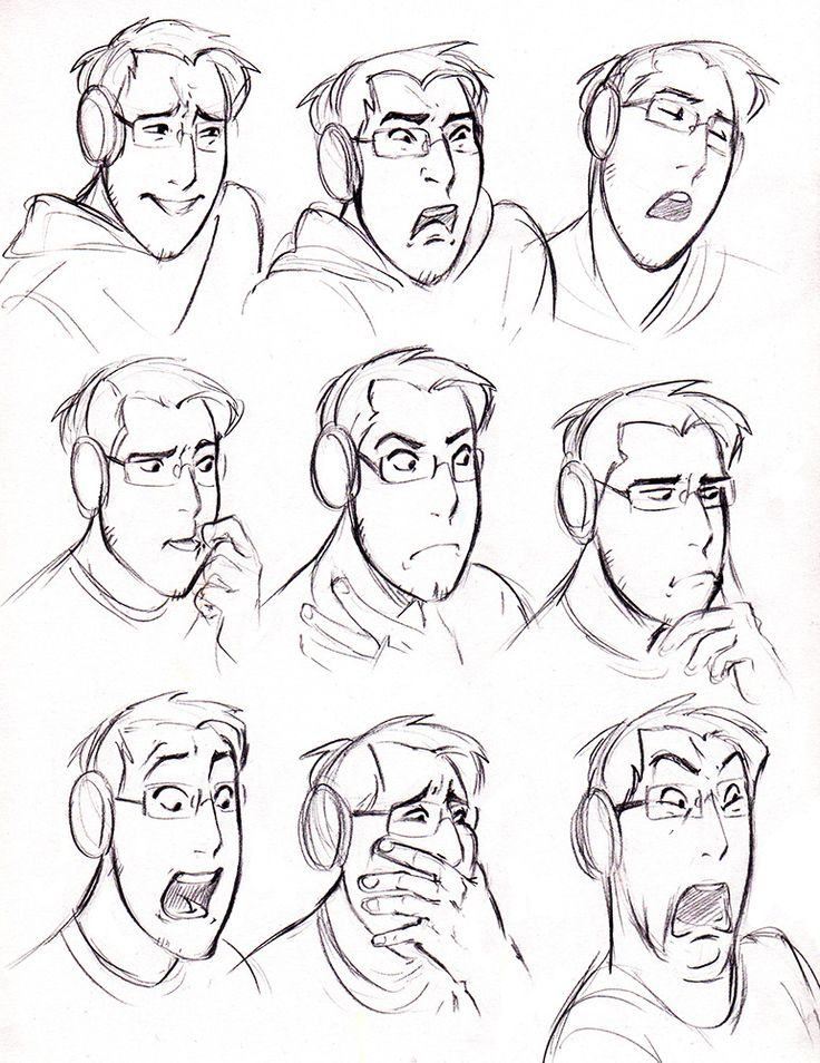 I wanted to practice drawing expressions and had this brilliant idea to draw Mark playing Five Nights at Freddy's. | Miyuli tumblr | Markiplier