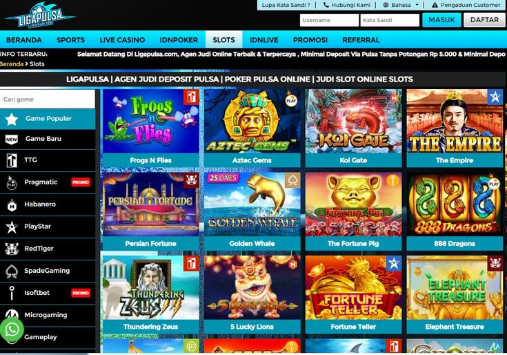 Pin di Situs Judi Online Deposit Pulsa Tanpa Potongan