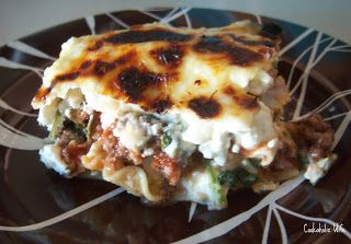Beef, Mushroom and Spinach Lasagna | Spinach Lasagna, Lasagna and Beef