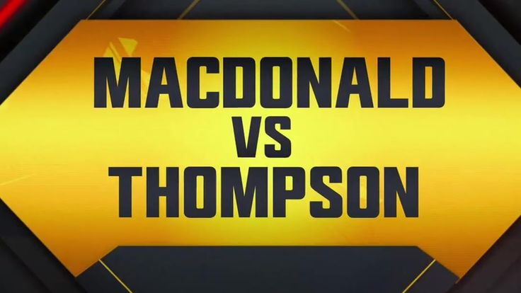 UFC Fight Night: MacDonald vs. Thompson Preview