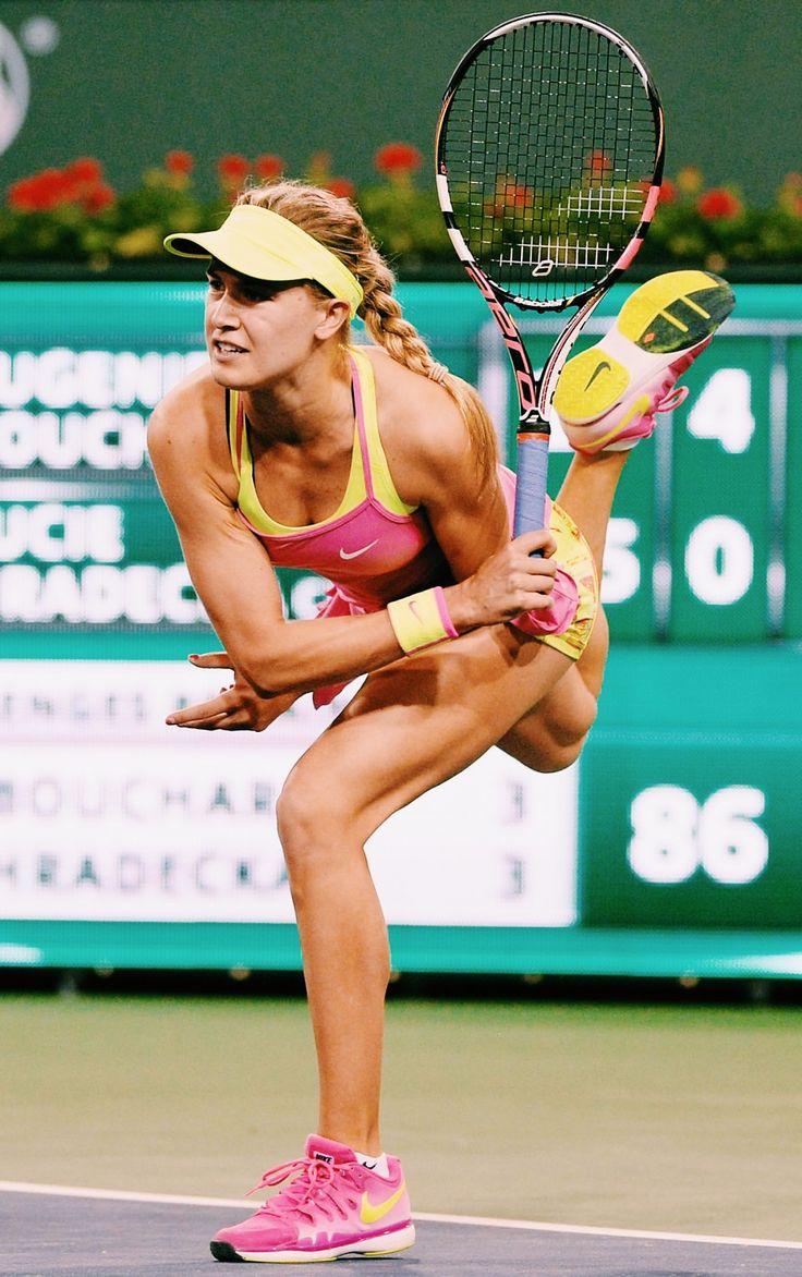Genie Bouchard in Indian Wells 2015 #WTA #Bouchard #IndianWells