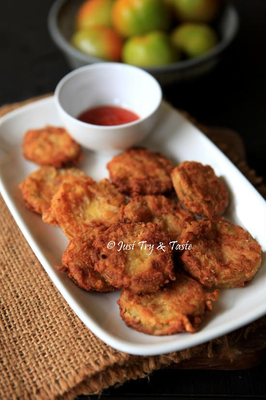 Resep Tomat Hij au Goreng (Fried Green Tomatoes) - So Yummy!