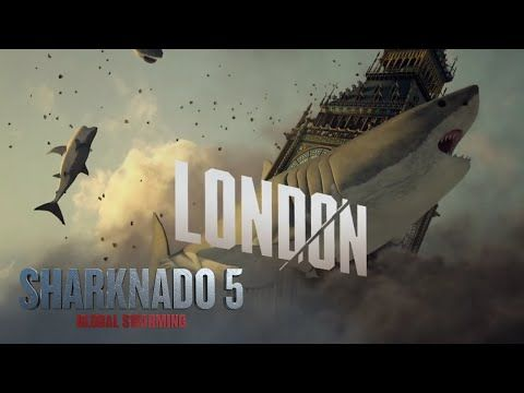 SHARKNADO 5 | (August 2017) Behind The Sharks: London - Go behind the scenes with the cast and crew of Sharknado 5: Global Swarming and see what happens when the franchise goes international. | SYFY