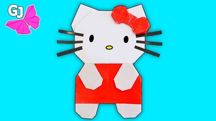 Оригами Hello Kitty