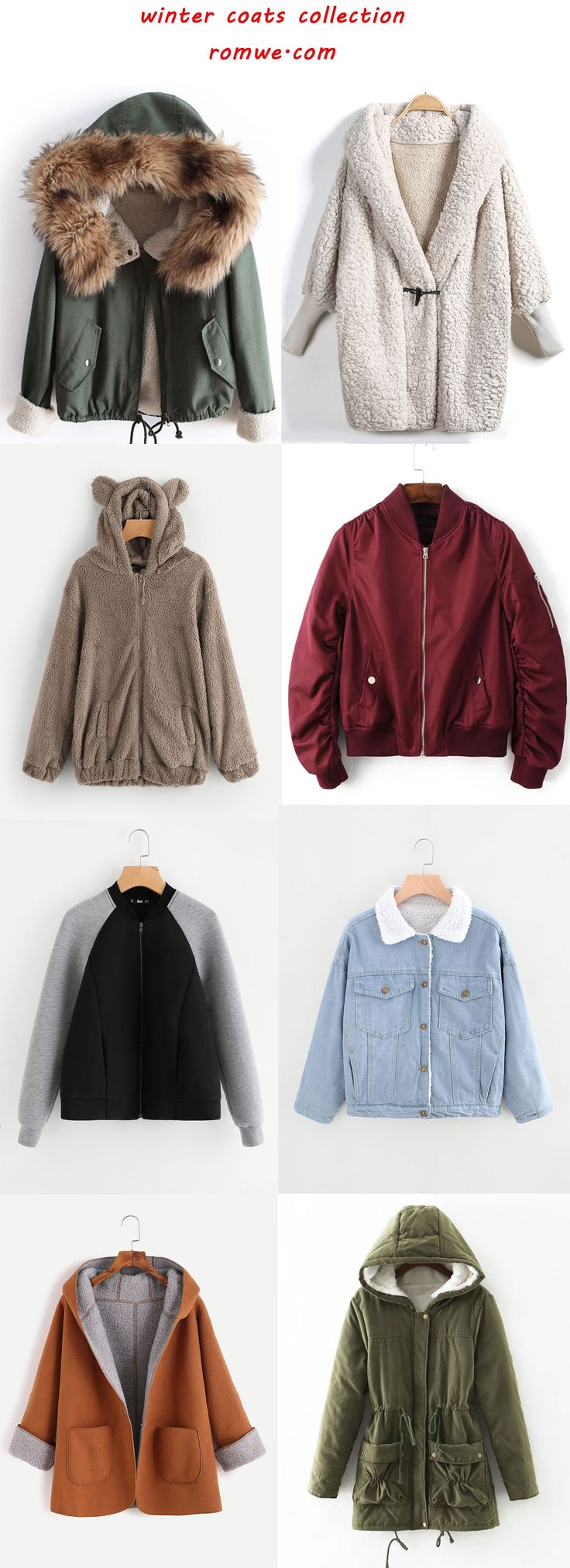 winter coats collection 2017 - romwe.com