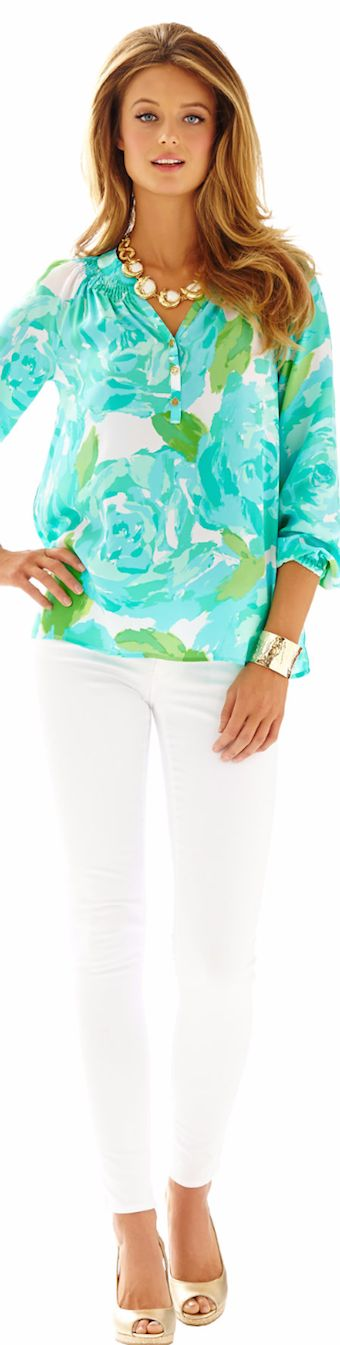 LILLY PULITZER ELSA TOP-FIRST IMPRESSION
