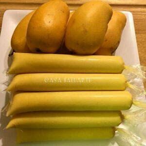 Casa Baluarte Filipino Recipes: HOMEMADE MANGO ICE CANDY RECIPE