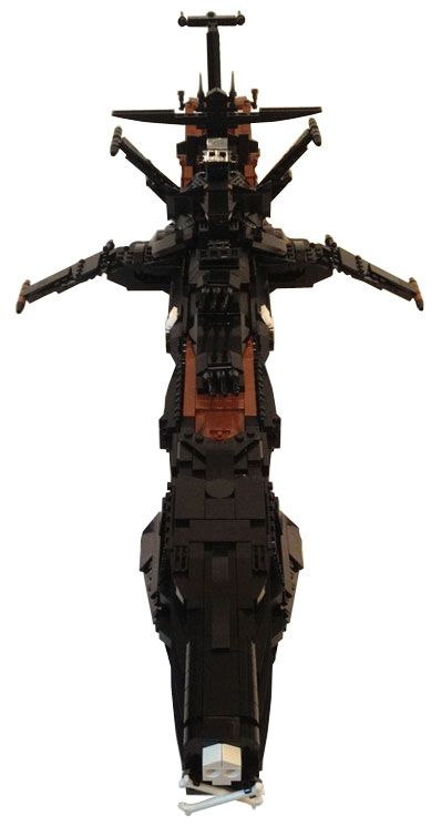 L'Atlantis d'Albator en Lego – 70 cm (Arcadia)