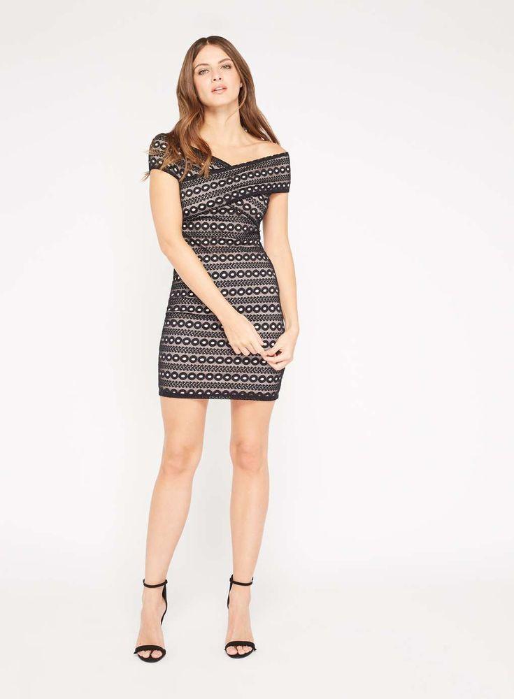 PETITE Lace Bodycon Dress - View All - Petites - Miss Selfridge
