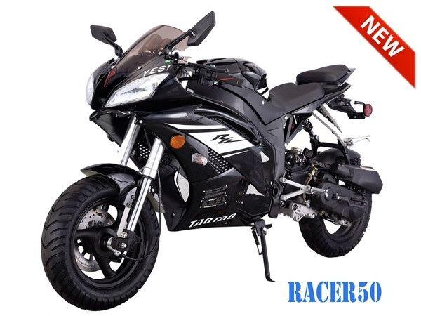 Racer 50 TaoTao Adult 50cc Gas Moped Scooter