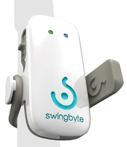 Swingbyte Golf Training Device by Swingbyte. $128.99. Amazon.com                 Swingbyte Golf Training Device The Swingbyte Golf Training Device pairs a smartphone or tablet compatible application with a lightweight swing sensor that attaches directly to your golf club--allowing you to capture and analyze your swing for improved results on the course. The Swingbyte device secures easily to any golf club just below the grip--and out of your way. Immediately after a golf swing,...