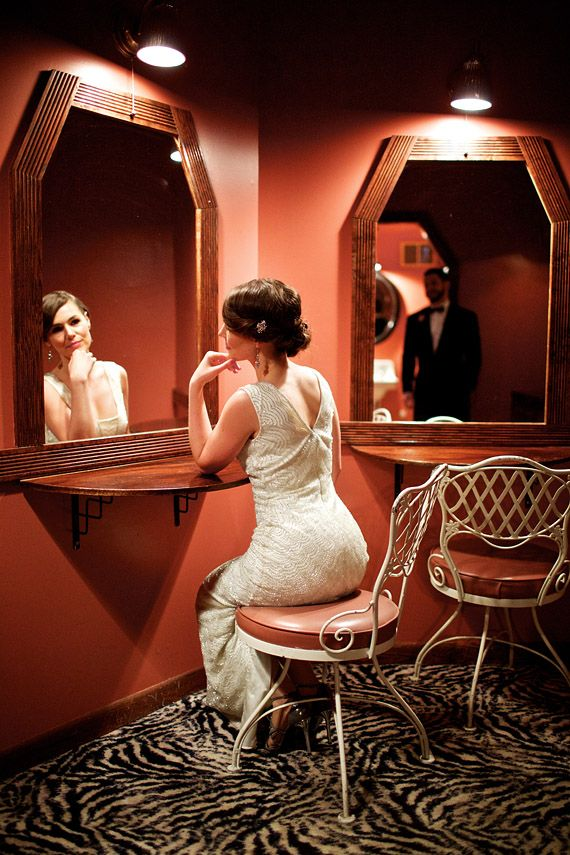 Aiden Mattox wedding dress | photo by Jeffery Lewis Bennett | Read more - http://www.100layercake.com/blog/?p=67518