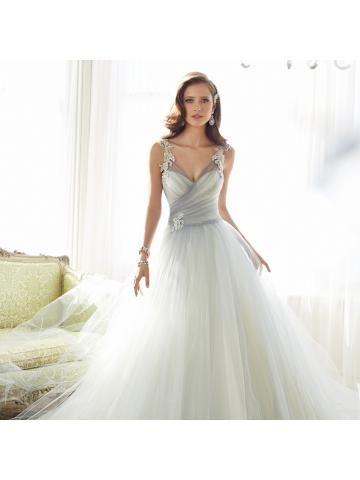 tule zeemeermin elegante bruidsjurken